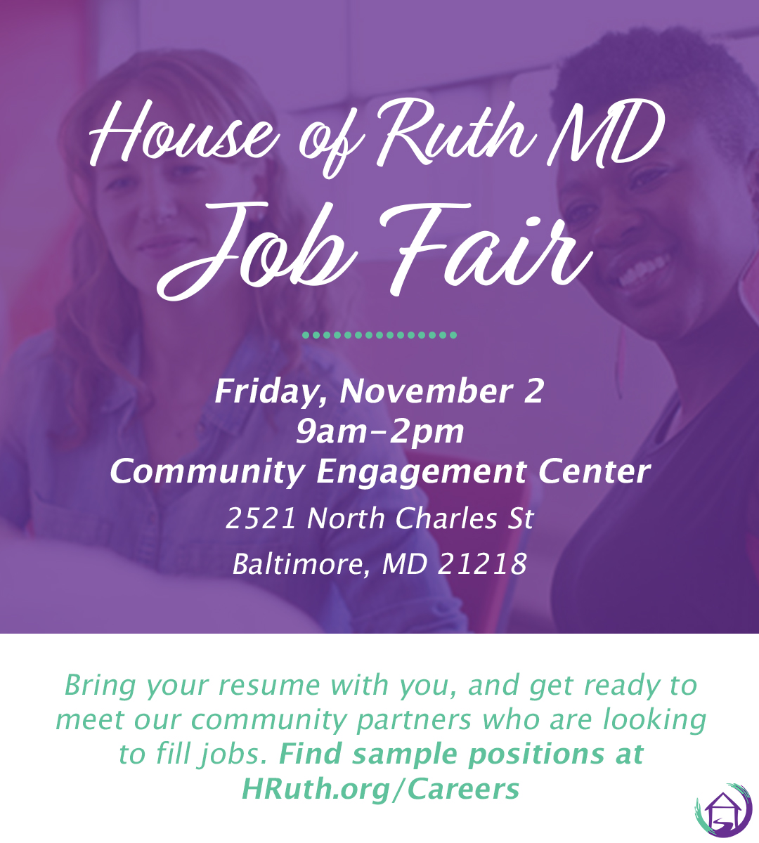 Careers - House of Ruth Maryland